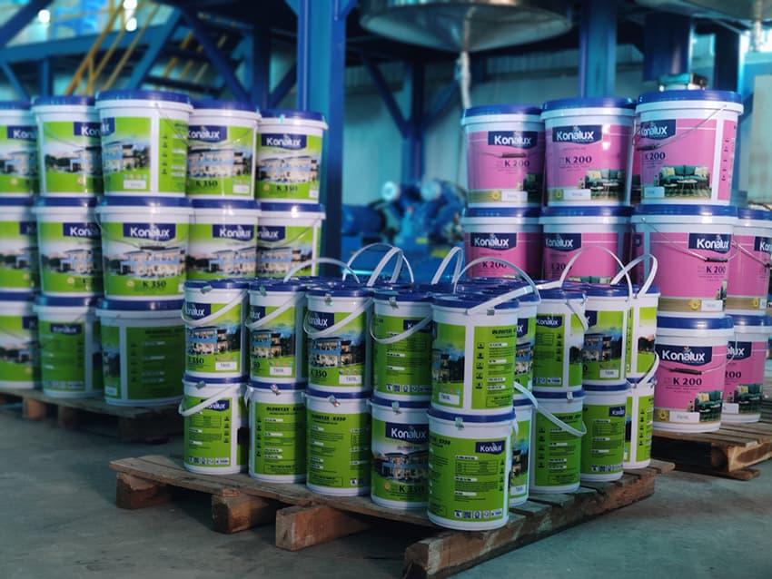 Báo giá dây chuyền sản xuất sơn