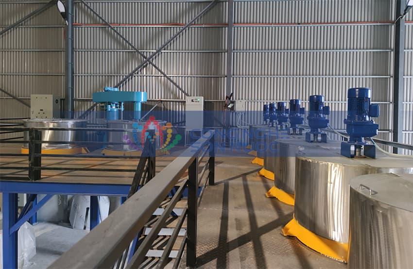 Mở xưởng sản xuất sơn nước